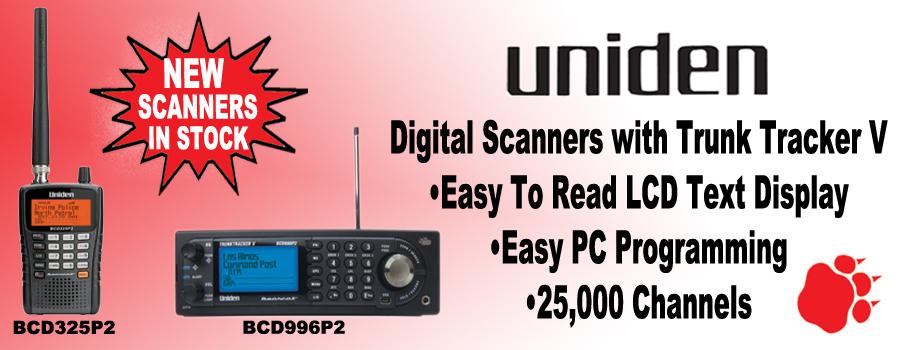 Uniden BearCat Scanners