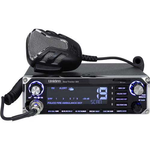Beartracker885 CB Radio and Digital Scanner