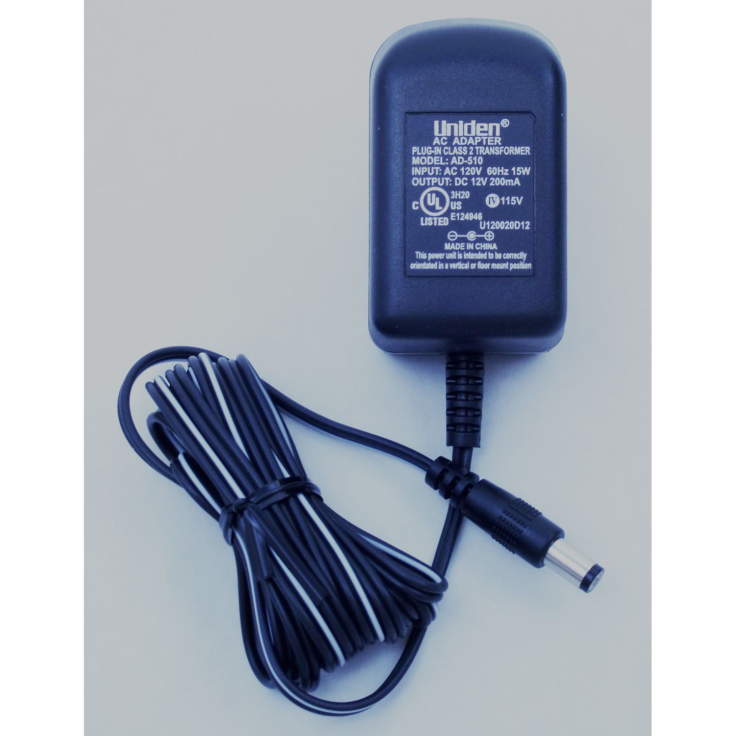 BADY0568001 - Uniden Bearcat AC Adapter Plug-In Transformer For VOYAGER and ATLANTIS250 Radio