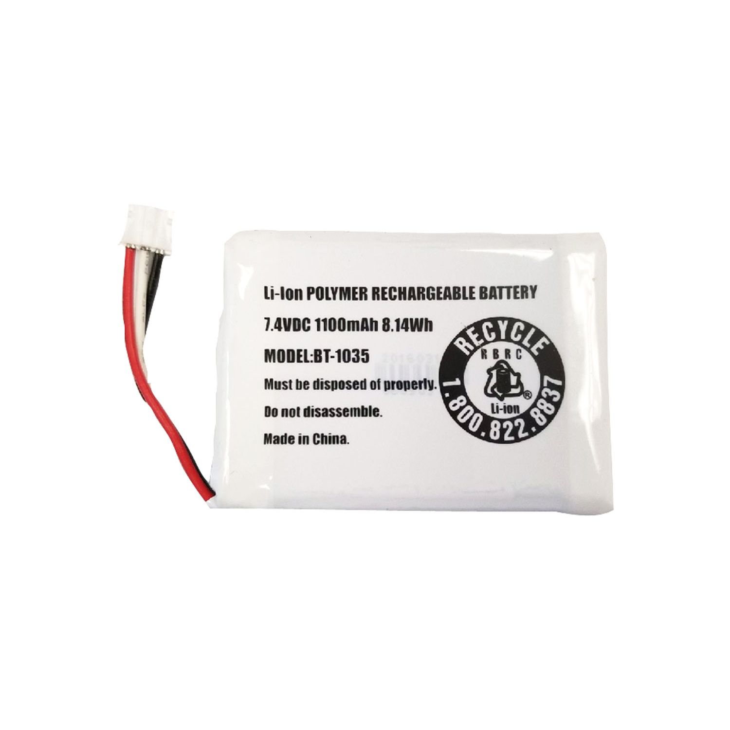 BBTG0920001 - Uniden Replacement Battery for Atlantis270