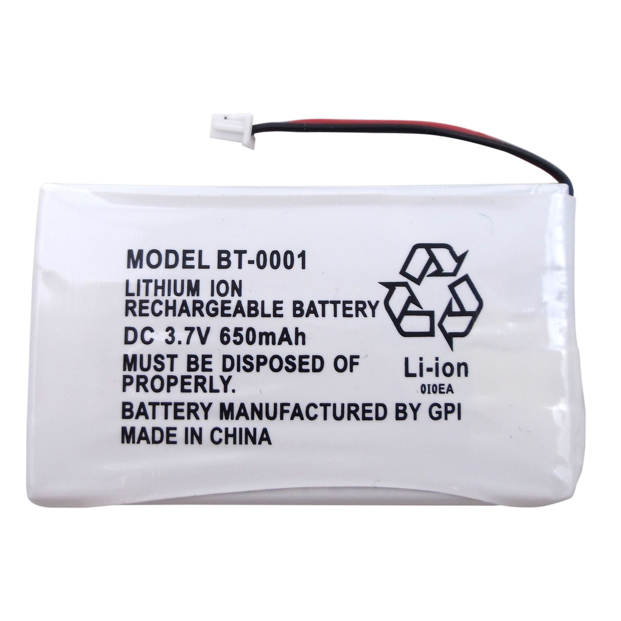 BBTY0531001-1 - Uniden Bearcat Replacement Rechargeable Lithium Ion Battery