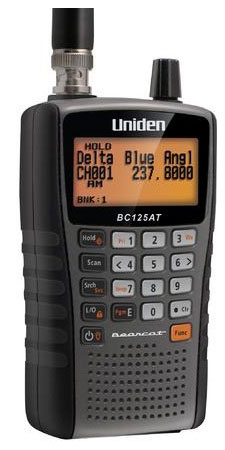 BC125AT - Uniden Analog Handheld Portable Bearcat Scanner