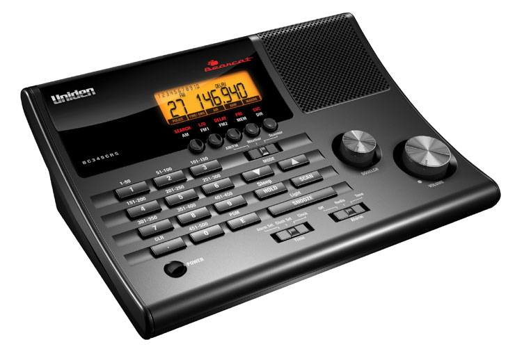 BC345CRS - Uniden Police and Weather Bearcat Scanner