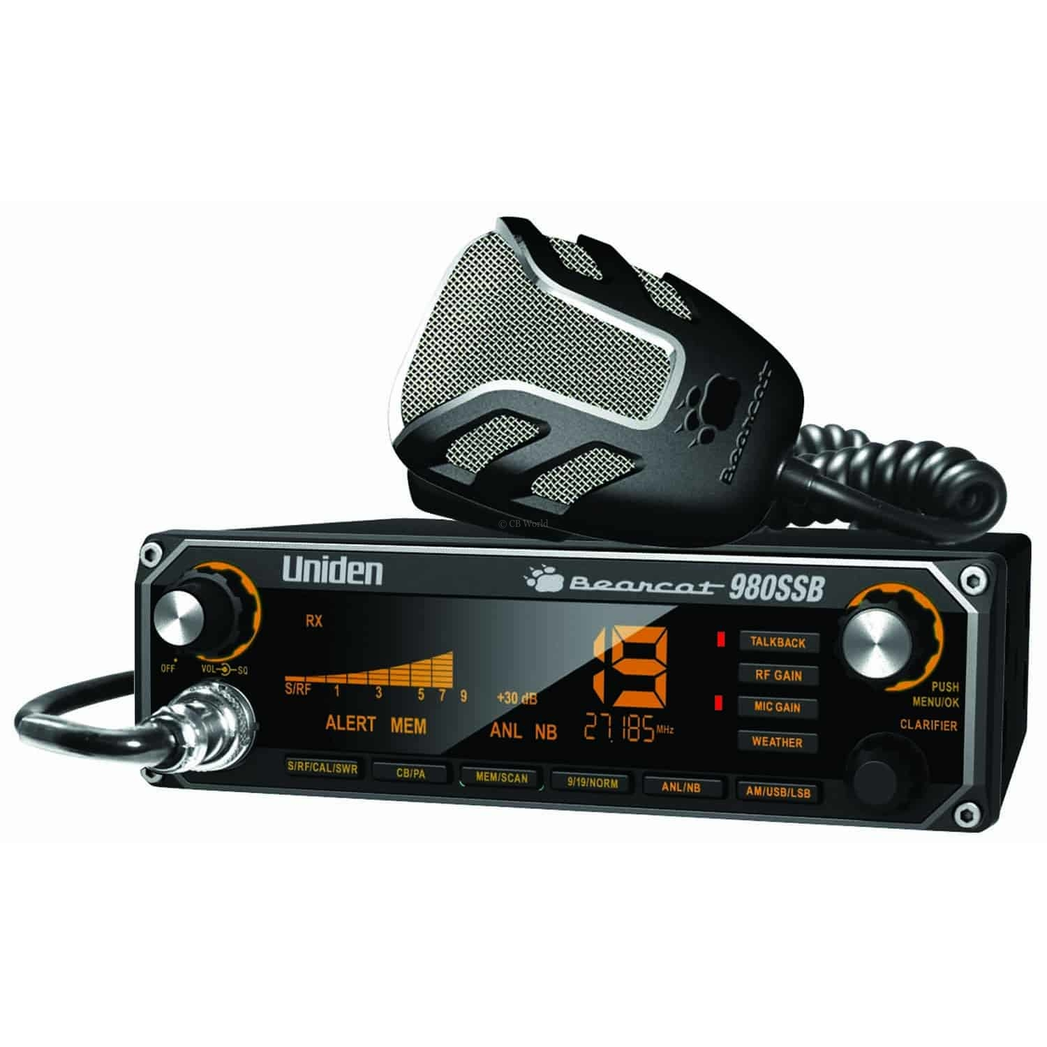 BC980SSB - Uniden Bearcat Single Side Band SSB CB Radio
