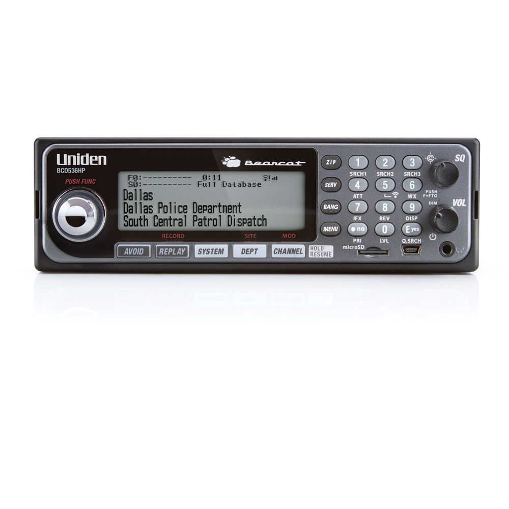 BCD536HP - Uniden Digital Bearcat Scanner