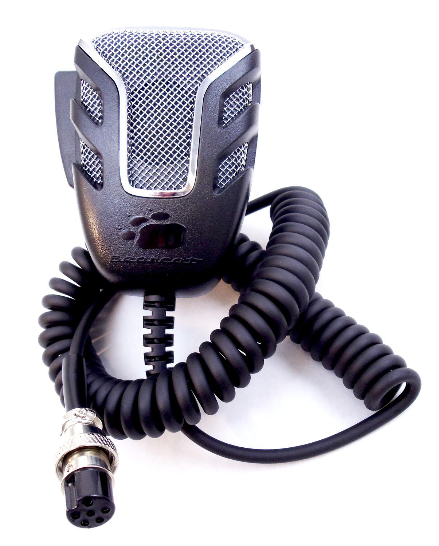 BMKG0689001 - Uniden Bearcat 6 Pin Noise Canceling CB Microphone