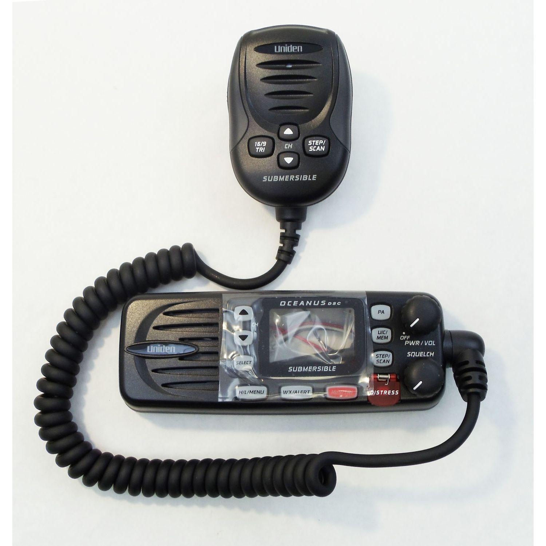 BMKYOCEDSCBK - Uniden Bearcat Replacement Microphone for Oceanus-DSC Radio