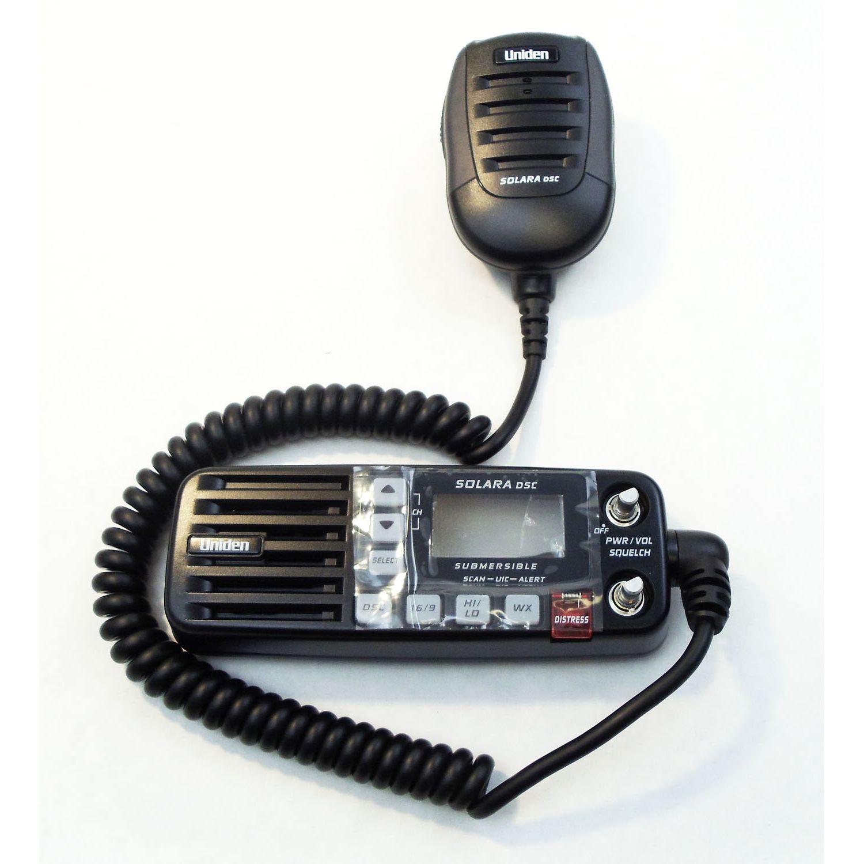 BMKYSOLDSC-B - Uniden Bearcat Black Replacement Microphone for Solara-DSC Radio