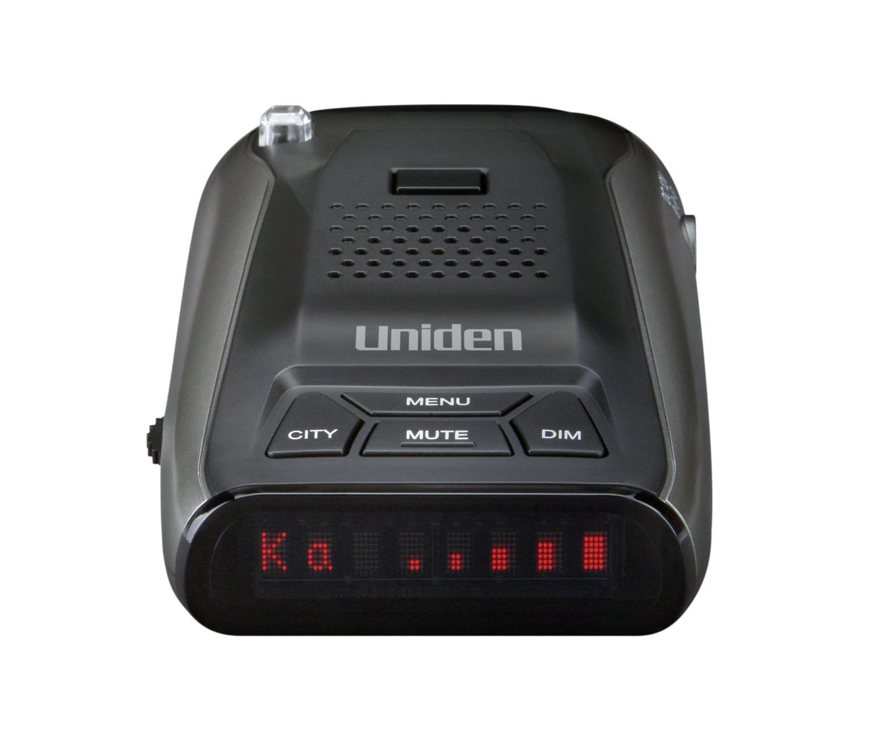 DFR5 - Uniden Long Range Radar/Laser Detector 360 Degree, Mute, DIM, Voice