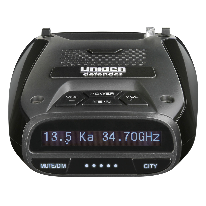 DFR6 - Uniden Radar Detector, GPS, 360 Degree, Voice, Mute, DIM