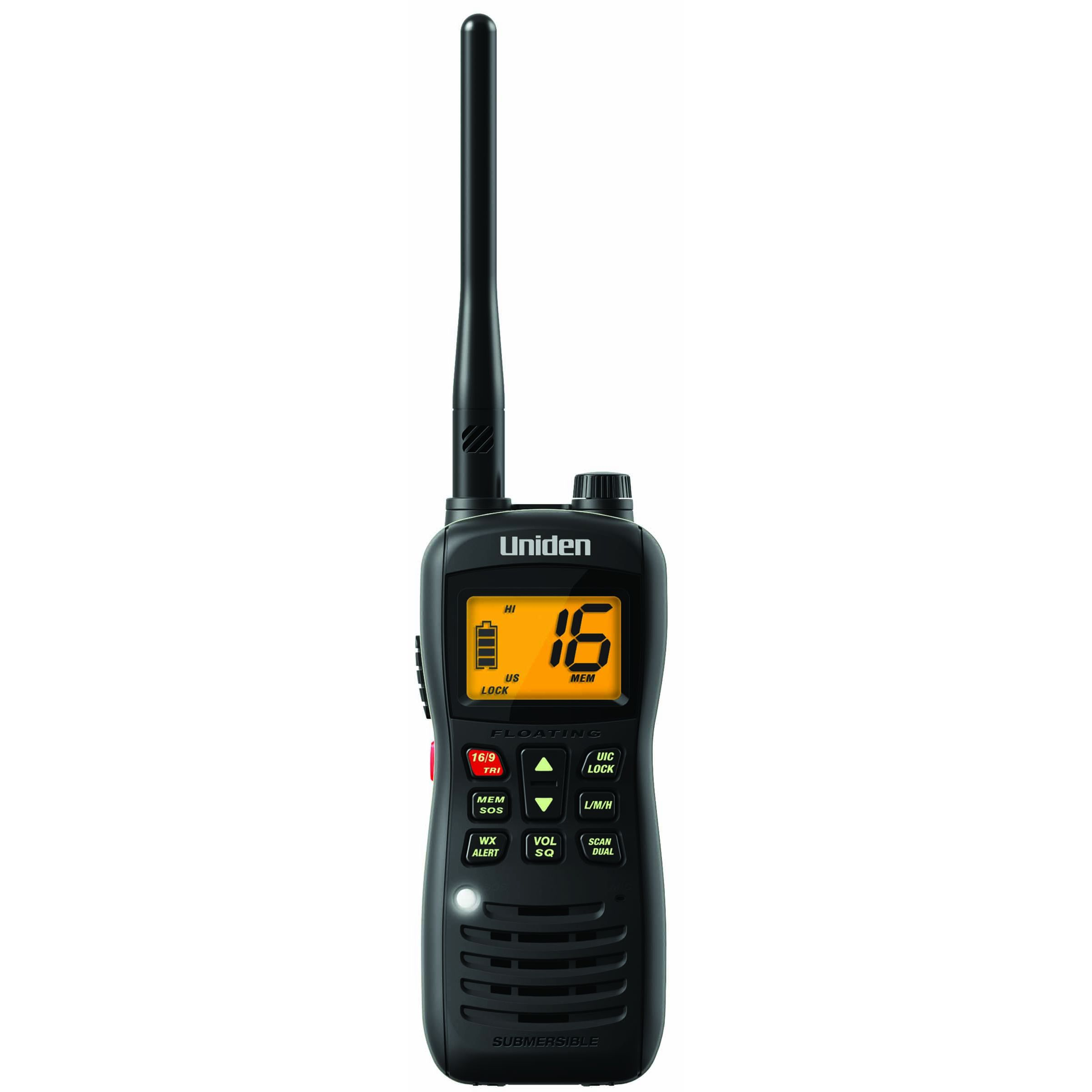 MHS126 - Uniden Floating Handheld VHF Marine Radio