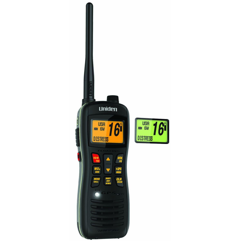 MHS235 - Uniden Handheld VHF Marine Radio