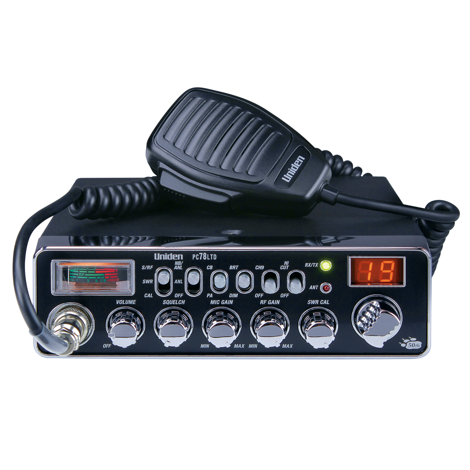 PC78LTD - Uniden Limited Edition Professional 40 Channel CB Radio