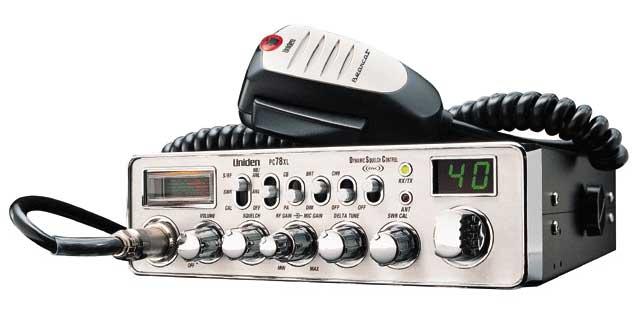 PC78XL - Uniden Bearcat Professional Series CB Radio