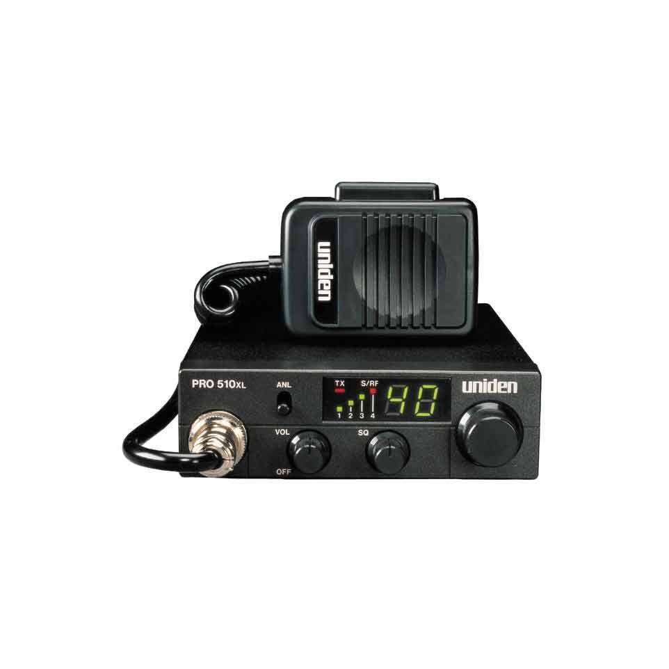 PRO510XL - Uniden Compact 40 Channel CB Radio
