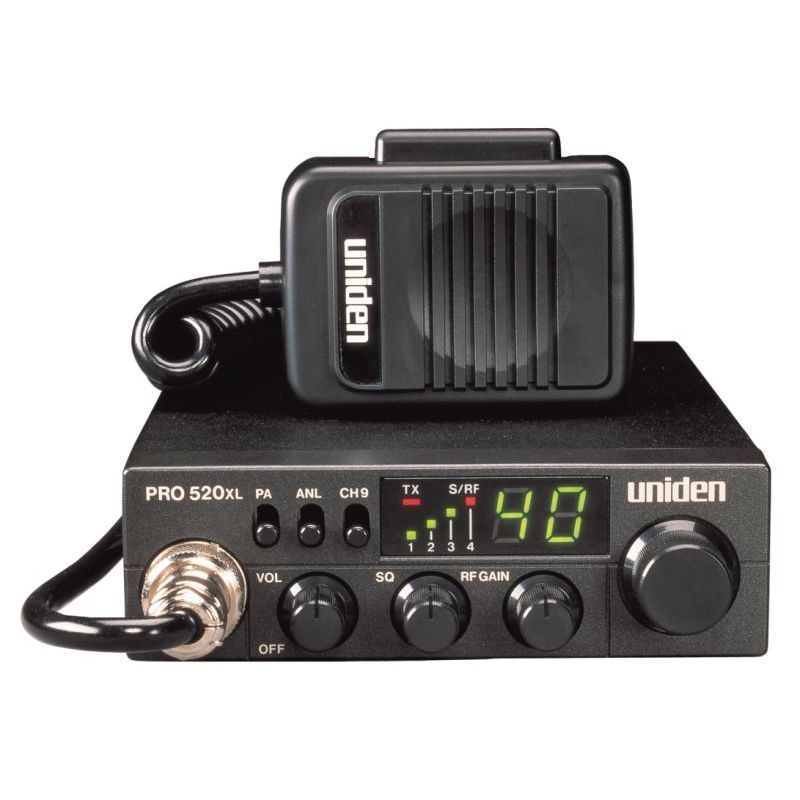 PRO520XL - Uniden Compact 40 Channel CB Radio
