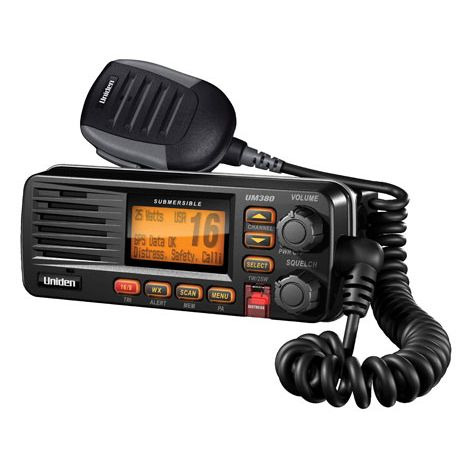 UM380BK - Uniden Fixed Mount VHF Marine Radio