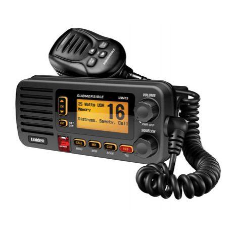 UM415BK - Uniden Fixed Mount VHF Marine Radio