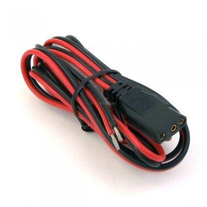 AUCB91 - CB Radio Power Cord (Bare Leads)