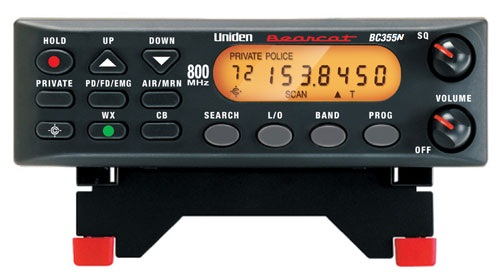 BC355N - Uniden Analog Mobile Police Bearcat Scanner